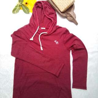Abercrombie & Fitch hoodie sweater long sleeve