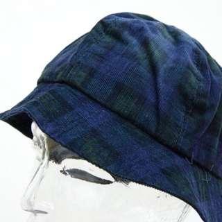 古著  格紋 漁夫帽