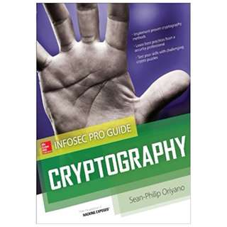 Cryptography InfoSec Pro Guide 1st Edition, Kindle Edition by Sean-Philip Oriyano  (Author)