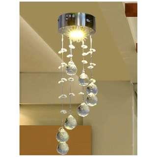 水晶吸頂燈 床頭壁燈 臥室 玄關 走道 更衣室 歐式 奢華水晶燈 LED水晶吸頂燈