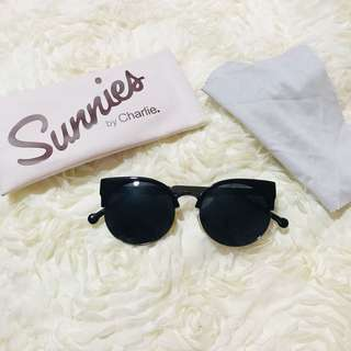 Sunnies Black Sunglasses