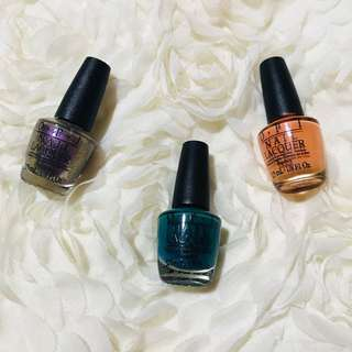 OPI Nail Polish Mini Set (3 pcs.)