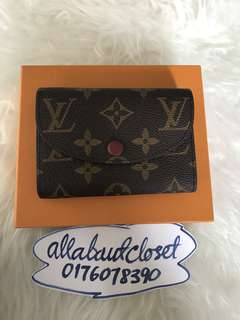 Customer's purchased, LV Cardholder/Coin purse