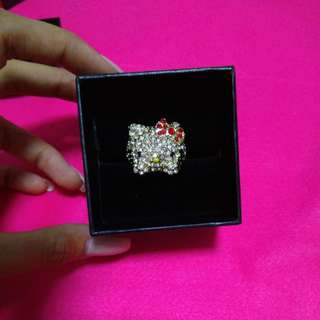 Hello kitty 24k gold (weight ring)