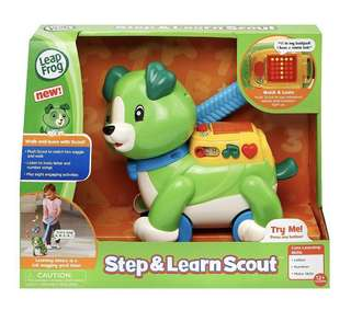 🆕LeapFrog Step & Learn Scout