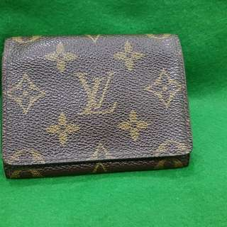 Original LOUIS VUITTON Card Holder Wallet