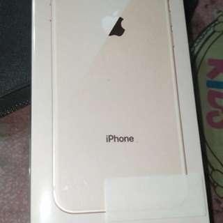 全新 iphone8 64G 金色