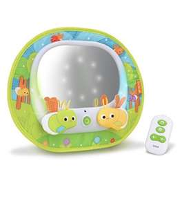 Brica Baby In-Sight Magical Firefly Car Mirror with Remote controller