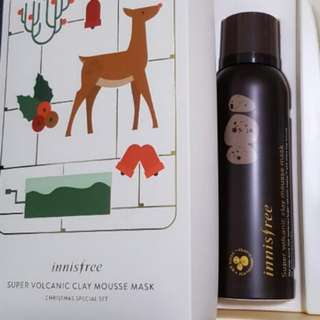 Innisfree Super Volcanic Clay Mousse Mask