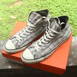 JUAL MURAH CONVERSE PATTERN WHITE ORIGINAL SECOND