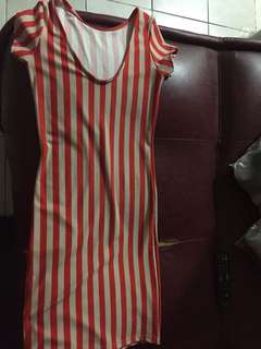 Dress strip orange