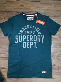 superdry t恤 Msize