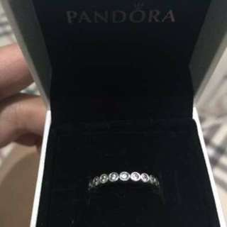 Pandora Ring With Cubic Zirconia