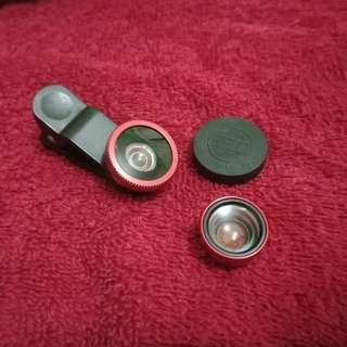 Clip lenses for pho e