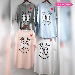 (台灣製造)泡泡先生寬鬆短䄂T恤上衣