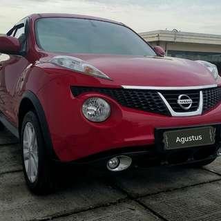 Nissan JUKE Rx 1.5 AT 2014 merah metalik