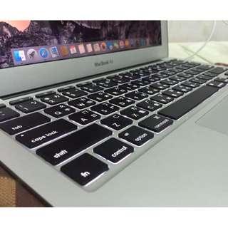 APPLE MacBook Air 11吋  i5-1.6 GHz   SSD 128G公司貨