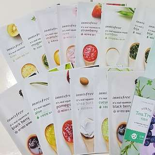 ⚡CLEARING ALL BN Innisfree It's Real Squeeze Mask