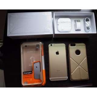 Apple  iPhone 6 Plus  64G 5.5吋,金(正品/非整新機)