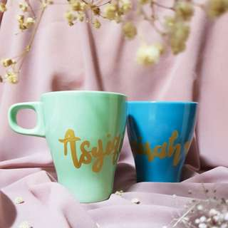 Coloured Customized Mugs