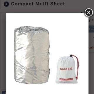 Mont.bell Compact Multi Sheet急救毯