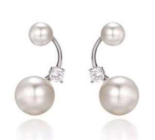 珍珠耳環silver 925