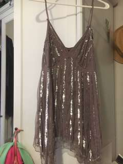 Beaded and sequin dress
