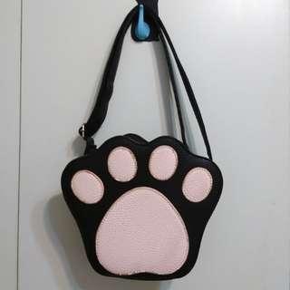 貓咪 貓掌 側背包
