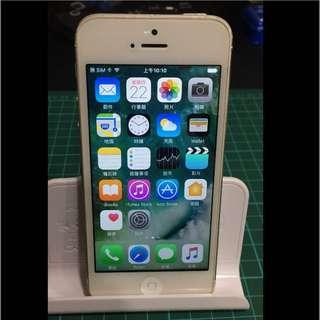 Iphone5 16g 銀色