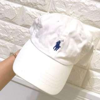 Polo白色棒球帽
