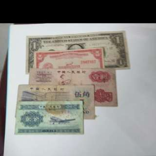 💱Lot Of Foreign Oversea Banknotes