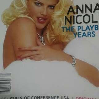 Playboy magazine Anna Nicole Smith cover