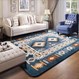 歐式現代簡約地毯客廳茶几墊床邊地毯臥室滿鋪北歐家用地墊