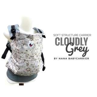 [TODDLER] Nana Baby Carrier - Cloudy Grey ($95)
