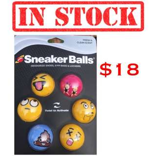 IN STOCK Sof Sole Sneaker Balls Shoe Gym Bag and Locker deodorizer | 1 pack 3 pairs (6 balls) | Limited stock available, please reserve