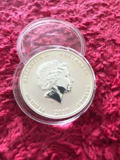 2017 1oz 999 Silver Dragon & Phoenix Coin