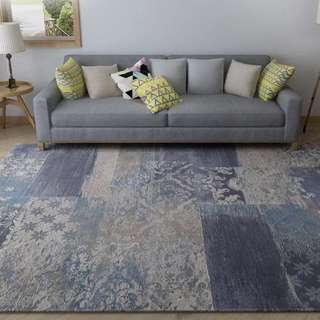 土耳其進口Da Vinci系列北歐客廳茶几地毯現代簡約沙發臥室毯