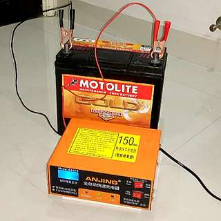 Workshop Car Battery Charger and Repair Machine
