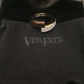 Vita Fede 戒指 玫瑰金