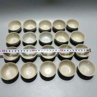 清代青花杯 寬5.5cm 高3cm 單個90元