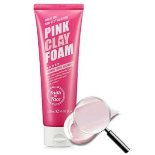 Faith in Face PINK CLAY CLEANSING FOAM 120ml