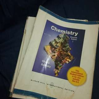 Chemistry 11th ed. Chang Goldsby McGraw-Hill
