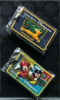 迪士尼行李名牌