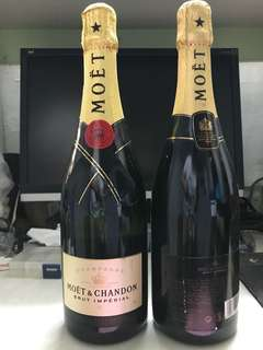 Moet & Chandon Brut champagne $420/2bottle