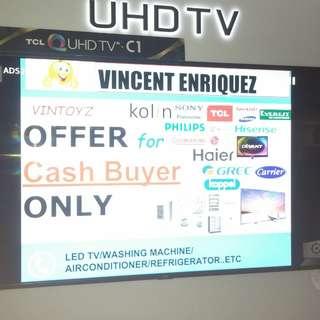 Tcl 75 inch 4k uhd smart led tv 75c2