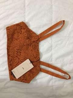 Zara Lace Floral Crop Top