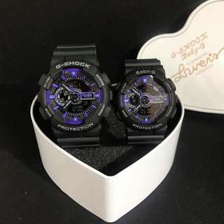 G Shock & Baby G Couple Watch