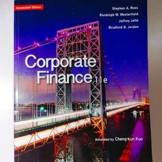 行銷管理 原文書  Corporate Finance,11e