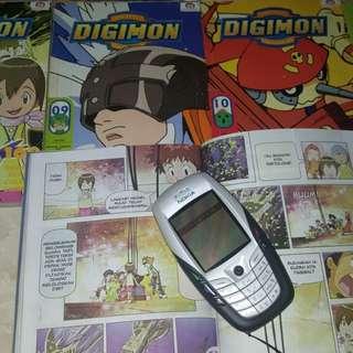 Komik mangamania Digimon