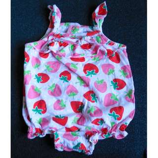 Carter's Strawberry Onesie